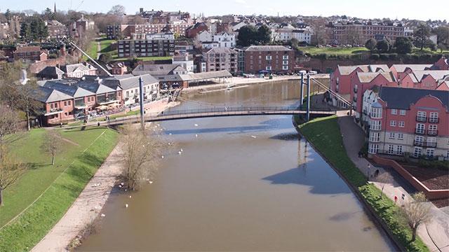 Exeter's Flood Defence Scheme